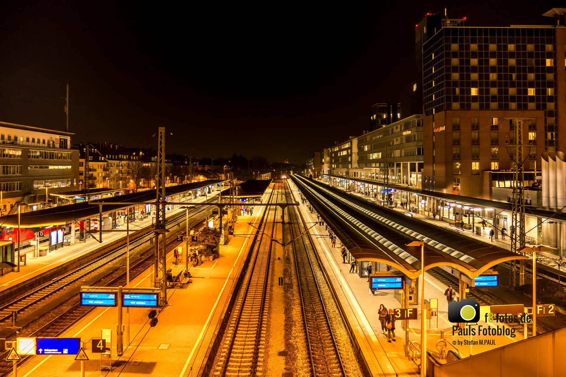 Freiburg Bahnhof Gleis 4