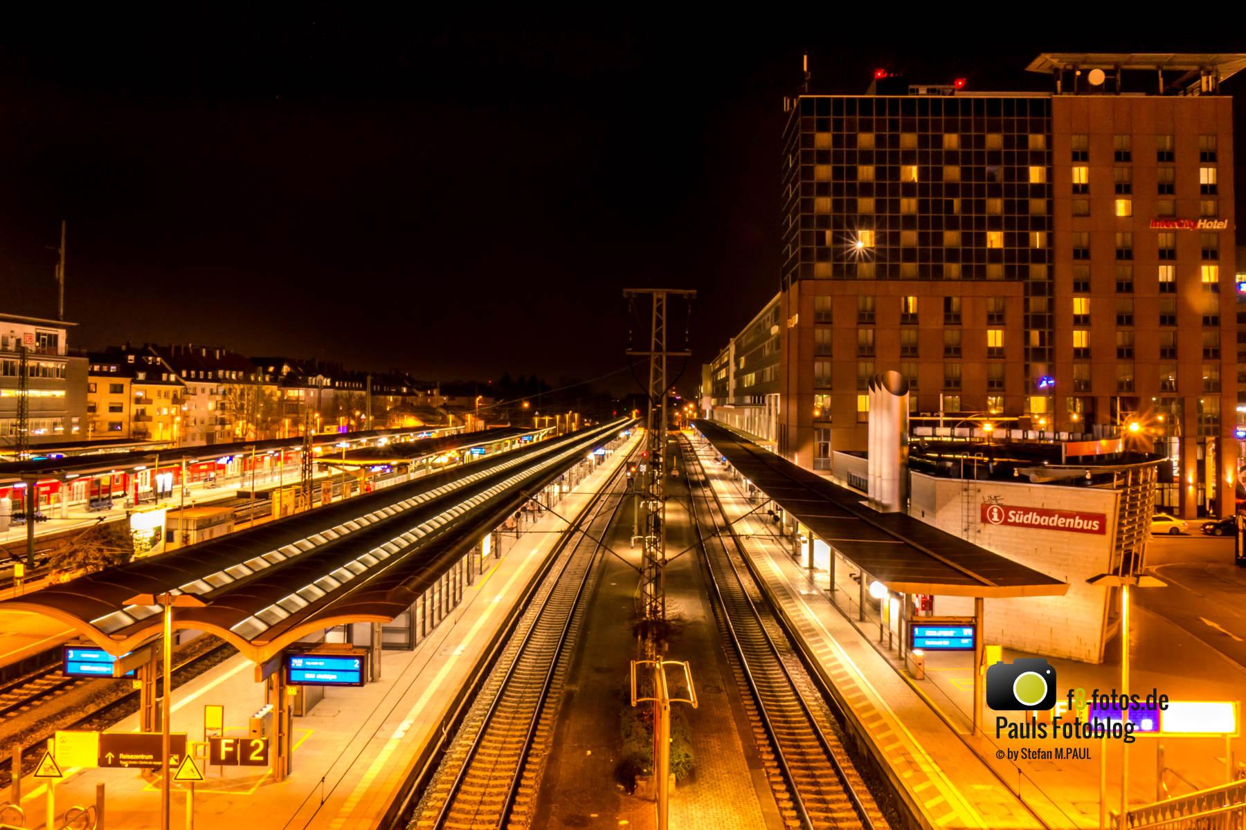 Freiburg Bahnhof Gleis 1