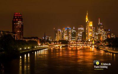 Frankfurt am Main in der Nacht